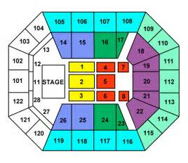 pics photos mohegan sun arena ct seating chart other