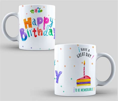 mug design happy birthday design sublimation mugs happy birthday sublimation