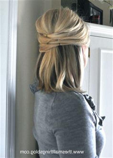 wedding hair pics half up pics for gt half up half hairstyles medium length hair