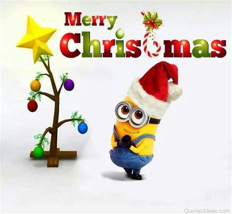 funny christmas minions merry christmas  minions