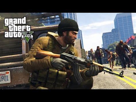 gta 5 zombie apocalypse mod #2 survival!! (gta 5 mods