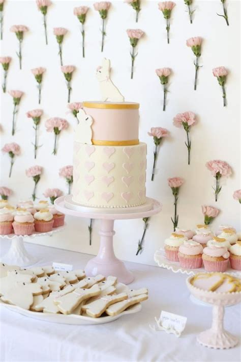 Desserts For Baby Shower by 31 Baby Shower Dessert Table D 233 Cor Ideas Digsdigs