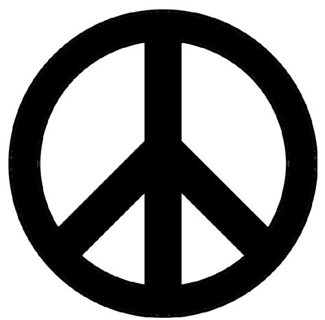 Download Your Free Peace Sign Stencil Here Save Time And Peace Sign Template