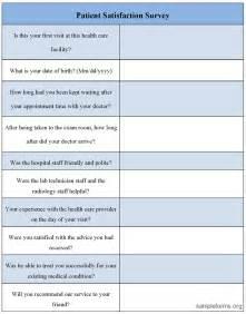 patient satisfaction survey template free patient satisfaction survey images