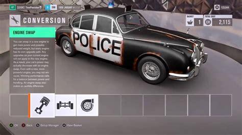 Forza Horizon Barn Finds Cars Forza Horizon 3 Proper Police Car Barn Find Youtube