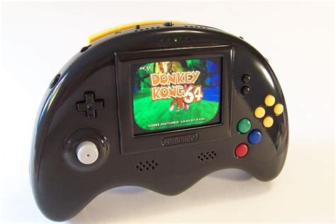 new n64 console here s a rather attractive portable nintendo 64 nintendo