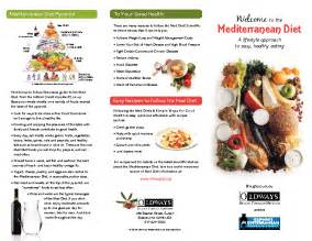 mediterranean diet 101 brochure oldways