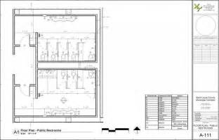 public restroom floor plan perfect public bathroom floor plan with revit architecture