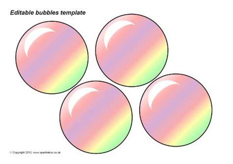 editable bubbles template sb7452 sparklebox