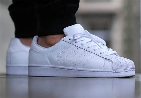 Adidas Superstar All White white adidas superstar kicksonfire