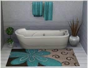 10 interesting and fun bathroom area rugs rilane
