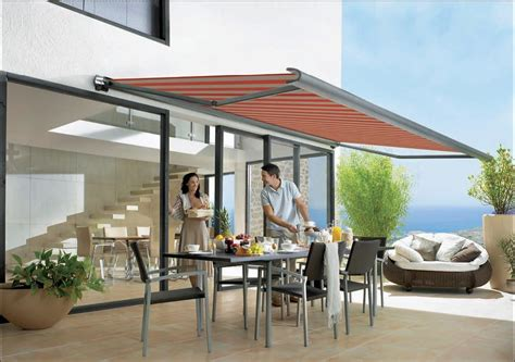 Motorized Awnings For Decks Deans Blinds And Awnings Introduces The Markilux M990 End