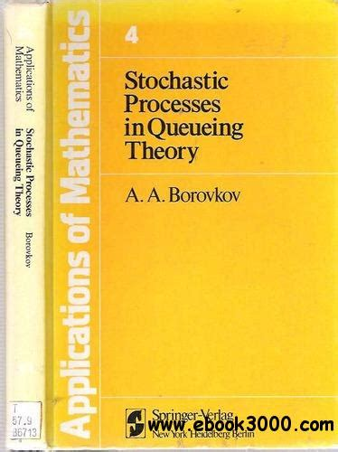 Stochastic Processes In Queueing Theory Free Ebooks Download
