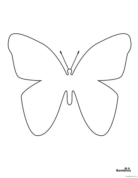 butterfly coloring pages easy butterfly coloring pages simple coloring pages for kids
