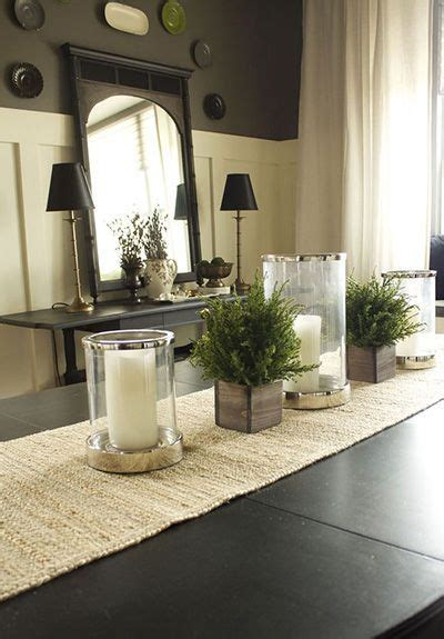 dining table decor 25 best ideas about dining table centerpieces on