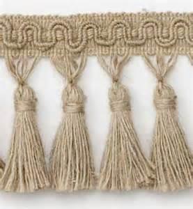 Upholstery Tassels Hemp Fiber Tassel Fringe 3 1 2 Quot Natural Best Fabric