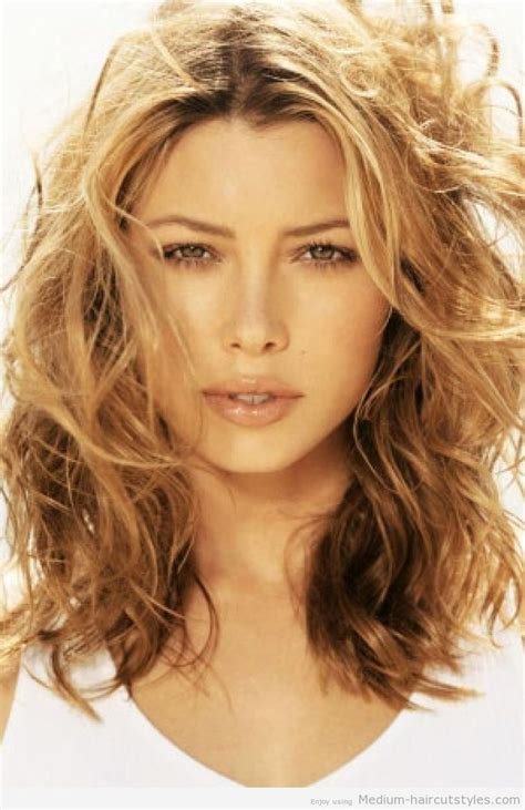 medium length wavy hairstyles for women over 50 2014