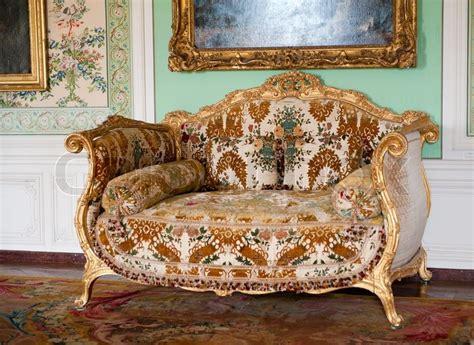 Versailles Upholstery by Versailles Sofa Innen Und M 246 Bel Kollektion Stockfoto