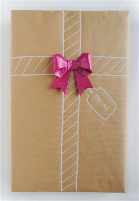 Gift Origami - zakka part ii gift wrap with origami details
