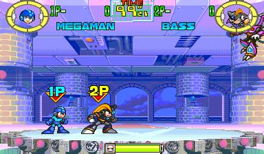 mega man: the power battle videogame by capcom