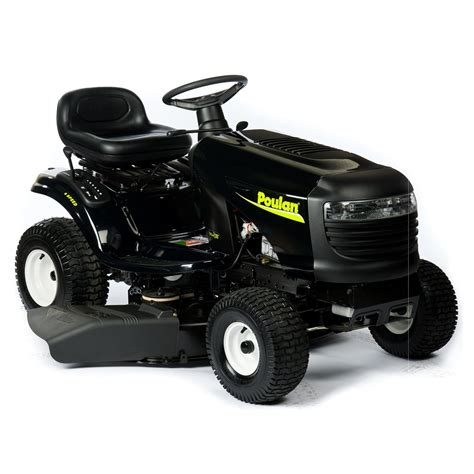 Lowes Garden Tractors by Poulan 14 5hp 38 In Lawn Tractor At Lowe S Canada