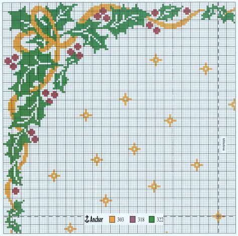 punto croce tovaglie da tavola tovaglia da tavola natalizia arte ricamo