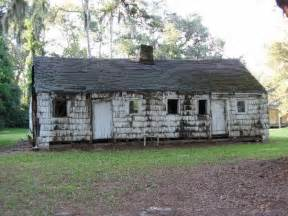 Houses With In Quarters Mansfield Plantation Quarters History