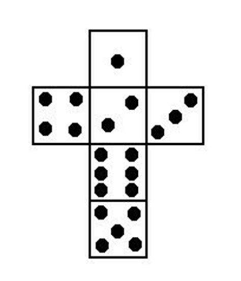 printable dice dots template of dice with white dots make your own dice
