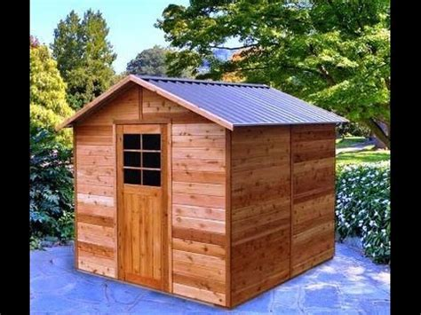 gable shed plans blueprints youtube