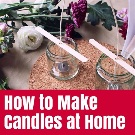 how to make candles at home the crafty mummy