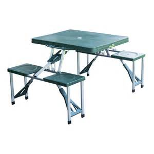 Portable Folding Picnic Table Outdoor Portable Folding Plastic Garden Cing Picnic