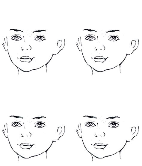 templates for face painting face outlines