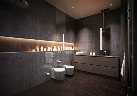 Modern Grey Bathroom 15 Modern Grey Bathroom Interior Design Ideas