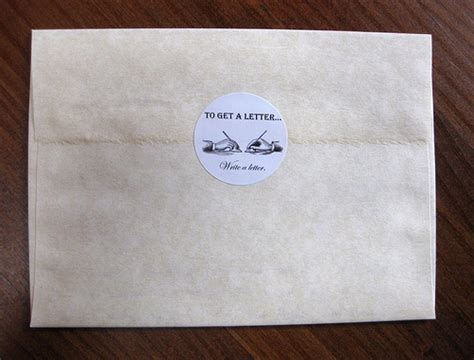 Reference Letter Envelope The Missive Maven June 2012