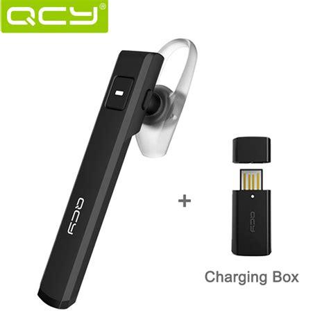 Original Qcy Qy26 Mini In Ear Universal Wireless Bluetooth 41 H original qcy j05 single ear bluetooth headset smart pioneering mini wireless earphone