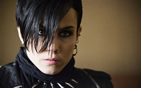tattoo girl with dragon noomi rapace wallpaper