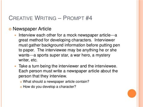 Creative Narrative Essay by Creative Writing Narrative Essay Original Content