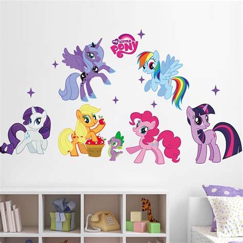 pony wall stickers my pony wall decoration removable wall sticker