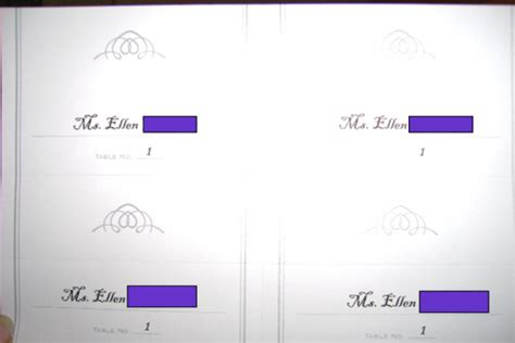 do it yourself place cards templates dollar tree place cards template i it here
