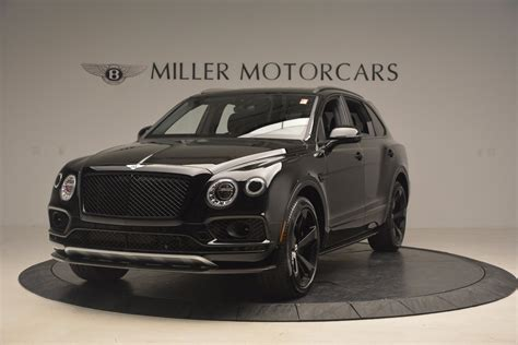 bentley and black 2018 bentley bentayga black edition greenwich ct