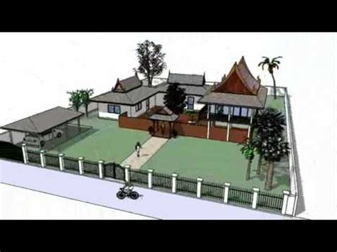 thai style house design modern thai style house plans home design and style