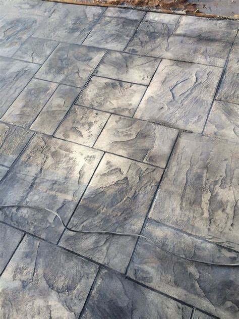how to color concrete decorative sted concrete grand ashlar st italian