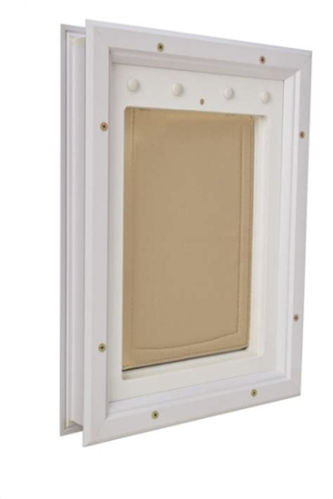 Pet Door 6 X 11 In Energy Efficient Secure Air Tight Interior Door With Pet Door