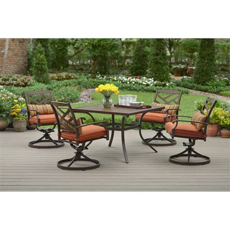 sonoma patio furniture better homes and gardens sonoma falls 5 patio dining