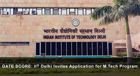 Iit Delhi Mba Admission Criteria 2017 by Gate Cut Score Archives Ies Master Official