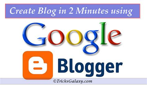 build blog how to create a blogspot blog on blogger platform