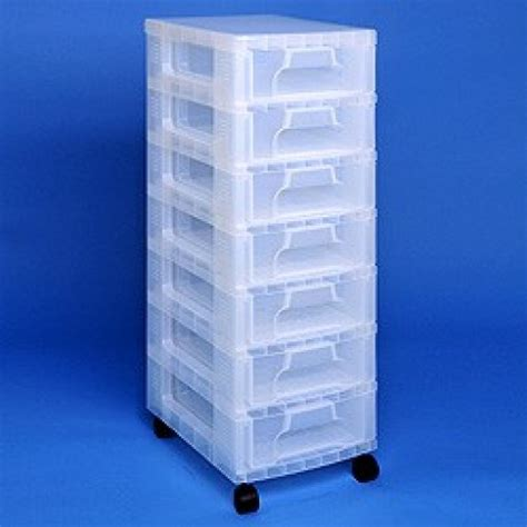 Plastic Drawer Storage Tower by Storage Tower 7x7l Drawer Plastic Towers Really Useful