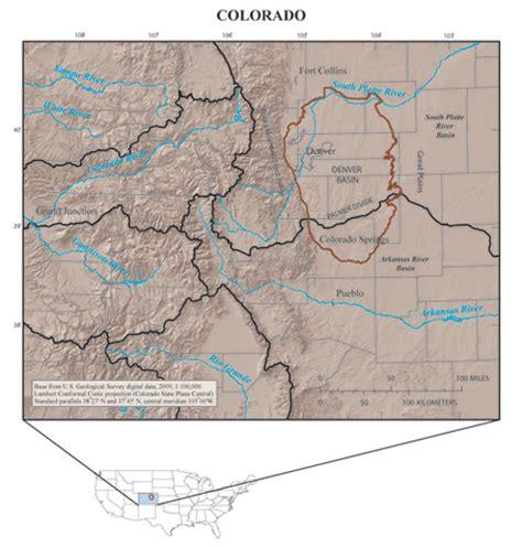 colorado aquifer map usgs wausp regional groundwater availability studies