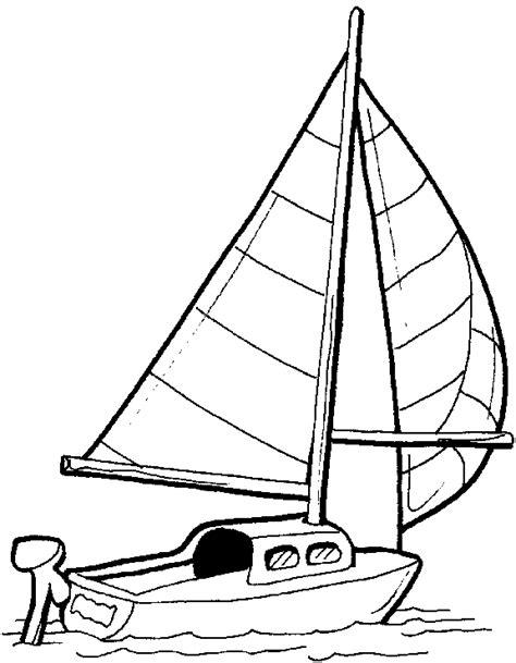 little cartoon boat dessins de bateaux 224 colorier