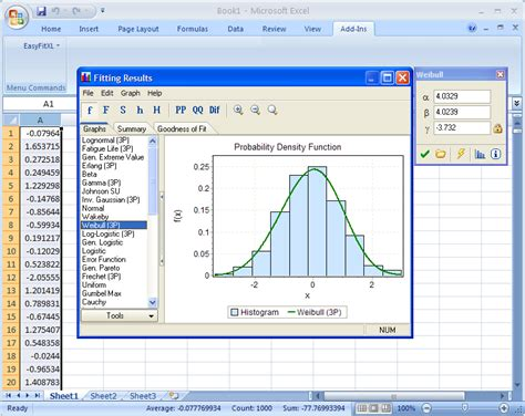 code of conduct exle how to fit distributions in excel